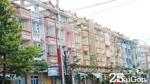 Sài Gòn những đường phố đồng phục 4
