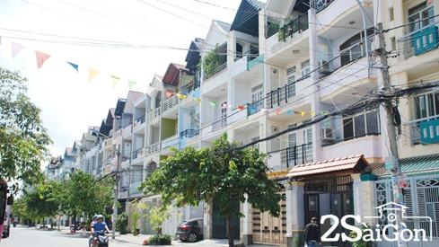 Sài Gòn những đường phố đồng phục 6