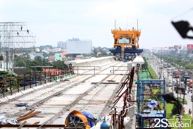 Tuyến metro đầu tiên của TPHCM dần thành hình 4