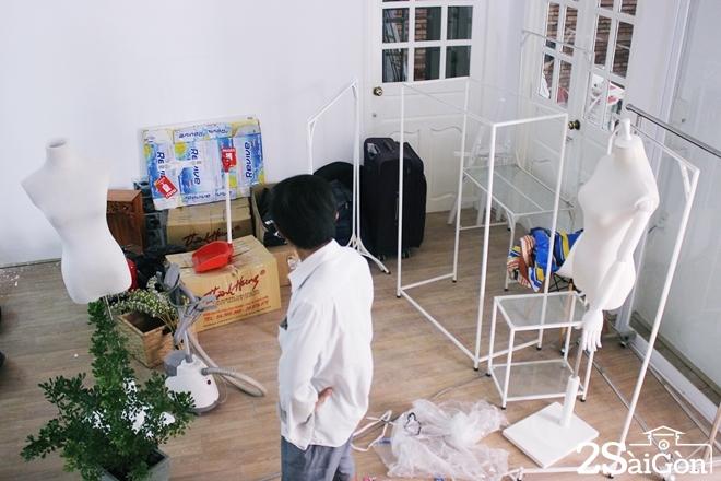 Chung cư cũ Sài Gòn hút khách thuê kinh doanh 7