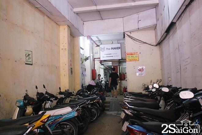 Chung cư cũ Sài Gòn hút khách thuê kinh doanh 9