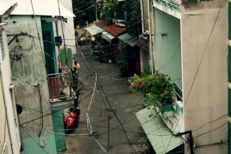 Hẻm - đặc sản của Sài Gòn. Ảnh: sưu tầm