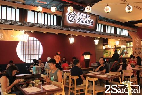 Khu ẩm thực thuần Nhật giữa lòng Sài Gòn 5
