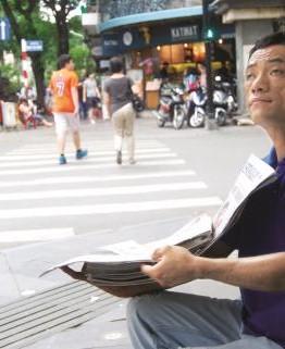 Người bán dạo báo Tây cuối cùng ở Sài Gòn 1