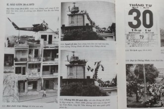 Sách ảnh Sài Gòn in nhầm ảnh chế dòng người di tản 1975 1