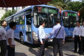 TPHCM đẩy mạnh xe buýt dùng khí nén thiên nhiên