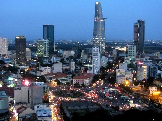 Một góc Sài Gòn ngày nay