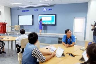 Trường đại học đầu tiên có giảng đường thông minh ở Sài Gòn