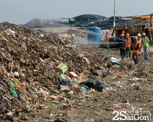 Bãi rác Đa Phước là nguyên nhân gây ra mùi hôi thối cho Sài Gòn. ảnh minh họa.