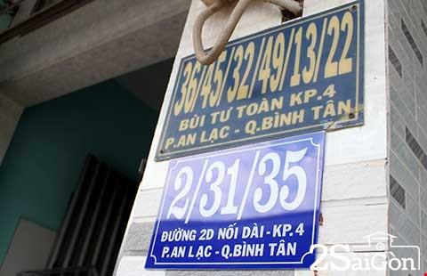 Hàng trăm nhà 'siêu số' ở Sài Gòn có địa chỉ mới