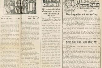 Truyện chưởng trên báo Sài Gòn xưa 1