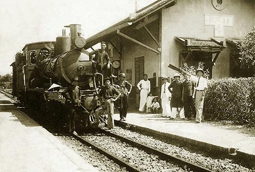Tuyến đường sắt đưa cao su về Sài Gòn của người Pháp 1