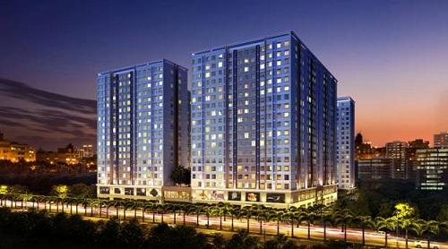 Dự án nhà ở xã hội kết hợp thương mại Topaz Home tại Q.112 được đánh giá là phù hợp túi tiền người mua trẻ khi giá bán chưa tới 600 triệu đ/căn