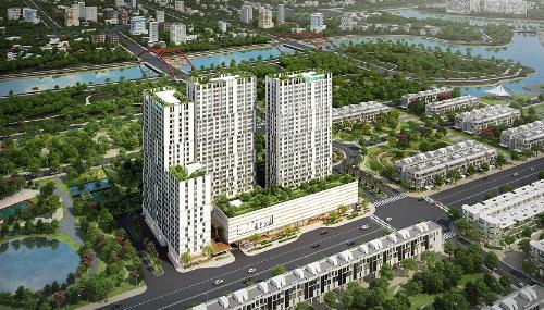 Phối cảnh dự án Citi Soho - quận 2.