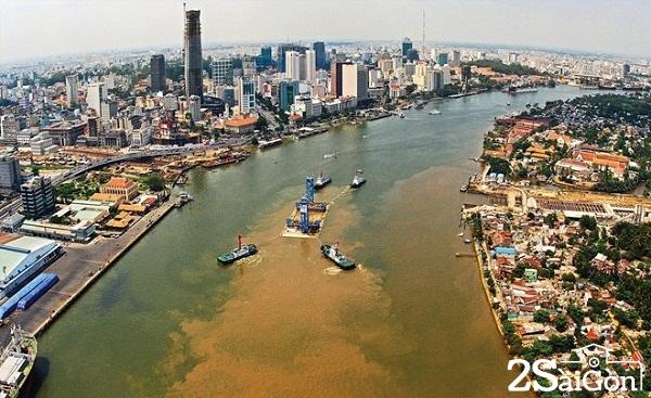 Sài Gòn hôm nay nhìn từ trên cao.