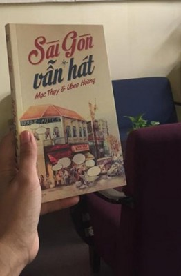 Bìa cuốn sách Sài Gòn vẫn hát.
