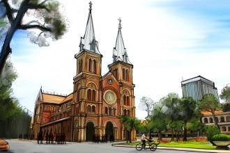Sài Gòn luôn đẹp trong từng kỷ niệm hoài cổ...