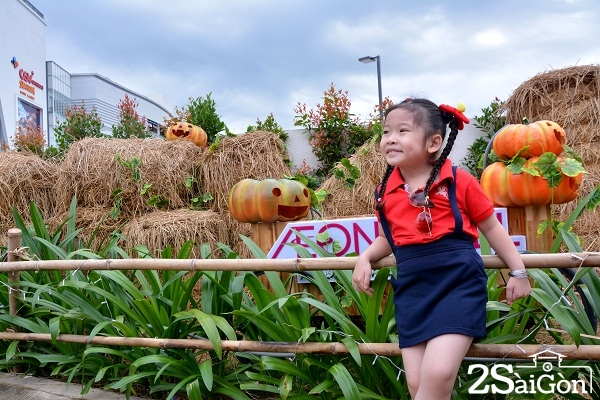 5.Cũng vì thế mà hiển nhiên bí ngô được chọn làm vật đại diện dễ dùng nhất trong dịp lễ Halloween tại Sài Gòn.