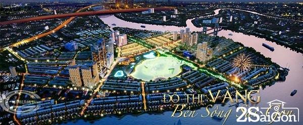 Dự án Him Lam Đông Nam Riverside sở hữu công viên bờ sông lớn nhất Sài Gòn với 3,4 km trải dài.