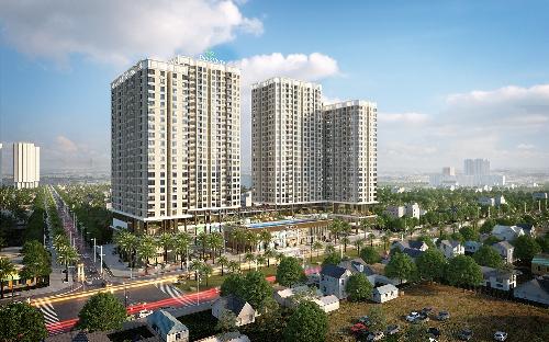 Phối cảnh tổng thể khu căn hộ cao cấp Park Vista - Nam Sài Gòn