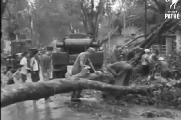 Bão năm Giáp Thìn 1904 là cơn bão gây thiệt hại nặng nề nhất cho Sài Gòn từng được ghi nhận. Ảnh minh họa