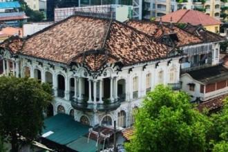 Một biệt thự cổ được xây dựng trước năm 1975.