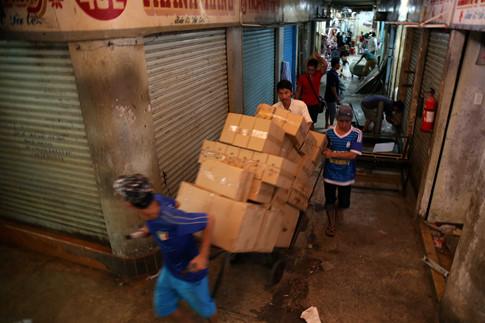 Sau thời gian sửa chữa chợ chính, tiểu thương sẽ được tái bố trí vào chợ như mong muốn