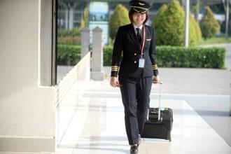 Cô luôn tin rằng, mình có thể trở thành một phi công giỏi