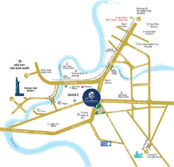 Chi tiết liên hệ hotline 0908886066 hoặc website www.centana.vn.