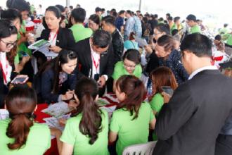 Một dự án gần khu đô thị cảng Hiệp Phước vừa công bố trong 3 tuần qua đã thu hút nhiều khách hàng, nhà đầu tư đặt mua. Ảnh: H.T