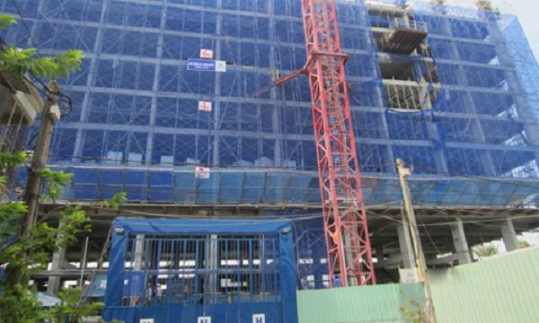 Một dự án căn hộ giá dưới 900 triệu đồng một căn tại Thủ Đức do nhà đầu tư ngoại đầu tư phát triển. Ảnh: Đ.N