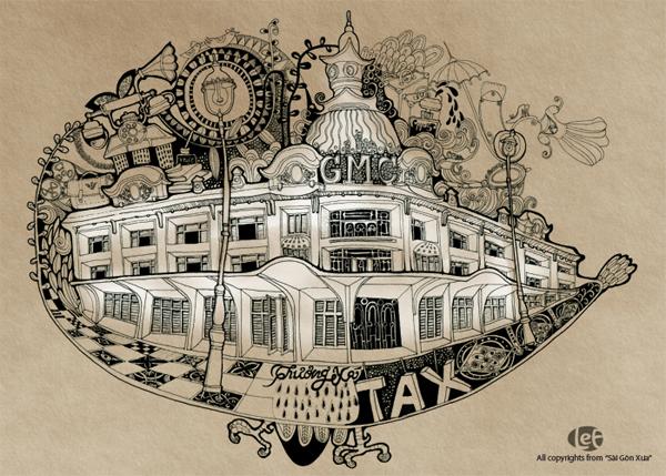 Thương xá Tax, một công trình chỉ còn lại trong hoài niệm của nhiều người.