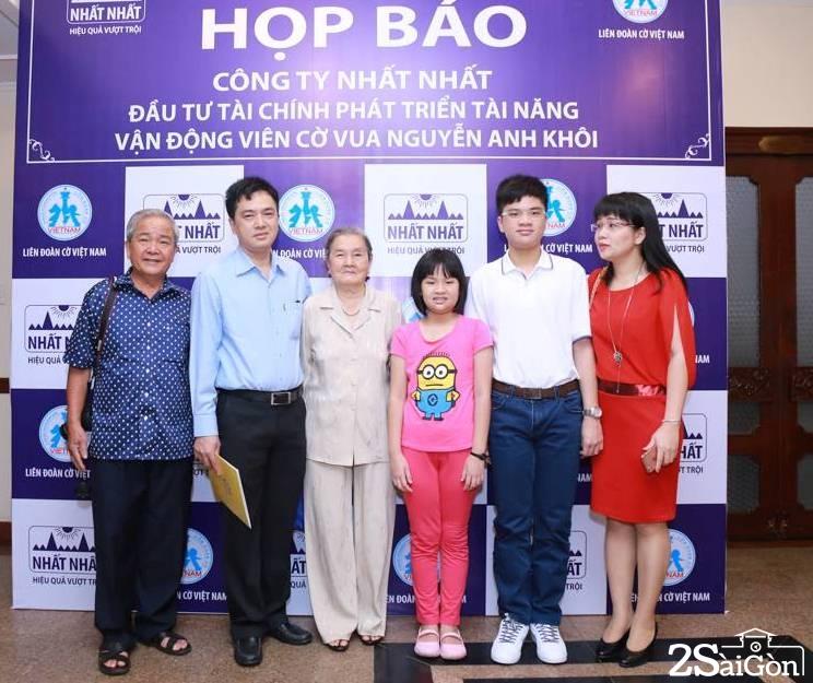 Gia đình Nguyễn Anh Khôi
