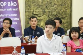 Kỳ thủ cờ vua Nguyễn Anh Khôi.