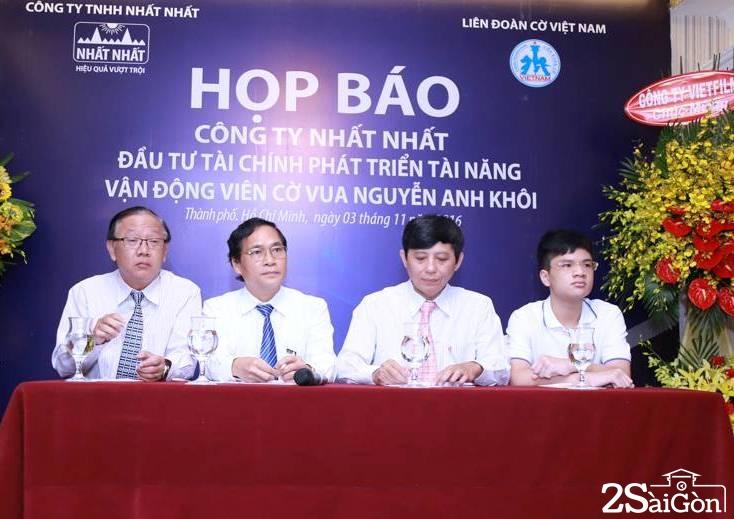 Nguyễn Anh Khôi là tài năng nước nhà