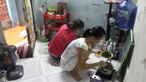 Một phòng trọ của sinh viên ở Sài Gòn