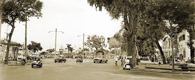 Bến Bạch Đằng năm 1956.