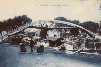 Cầu Ba Cẳng bắt qua 3 hướng khác nhau. Ảnh: Flickr