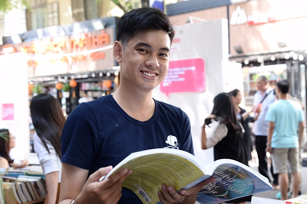 Tác giả Huỳnh Trọng Khang - Ảnh: Tự Trung