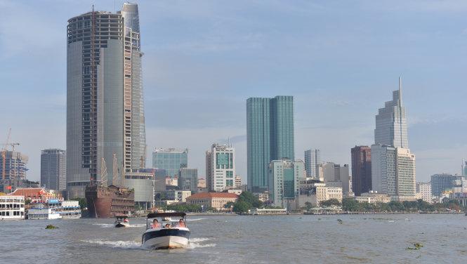 TP.HCM có tiềm năng lớn phát triển du lịch đường sông với hơn 2.000km sông chảy qua các quận huyện - Ảnh: Quang Định