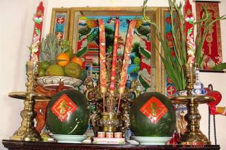 Bàn thờ tổ tiên của người Sài Gòn - Ảnh tư liệu