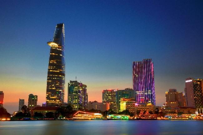 Một Sài Gòn kiêu sa, lộng lẫy khi về đêm