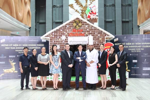 Lễ kỷ niệm 01 năm thành lập là dấu mốc quan trọng để Pullman Vung Tau sẵn sàng hướng tới tương lai với nhiều cơ hội và dự án mới đang chờ đón. Ảnh: Mạnh Cường