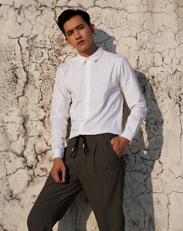 Võ Cảnh đang dần khẳng định được tên tuổi của mình trong vai trò diễn viên.