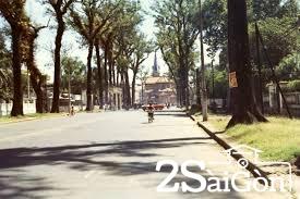 """""""Con đường Duy Tân cây dài bóng mát"""" năm 1972"""