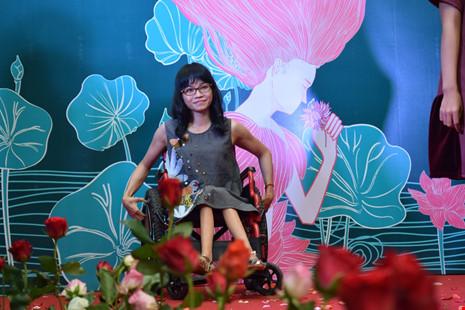 """Chị Trịnh Tâm (32 tuổi), người mẫu trong chương trình """"Tôi đẹp. Bạn cũng thế"""". Ảnh: NT"""