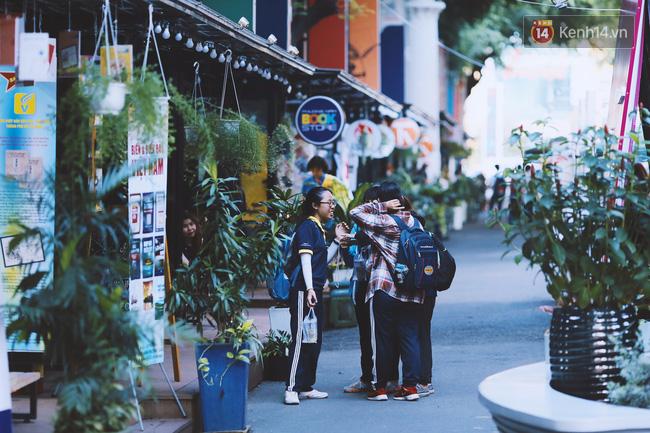 Ngẩng đầu lên, một Sài Gòn thanh lịch, trẻ tươi vẫn kề cận mình kia, chỉ đưa tay ra là nắm lấy, chỉ đưa mắt ra là nuốt lấy một trời dưỡng khí xanh ngắt.