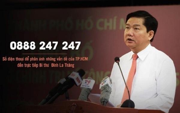 Đường dây nóng của Bí thư Thăng đã tiếp nhận hàng nghìn cuộc gọi từ người dân và doanh nghiệp. Ảnh: Zing.vn