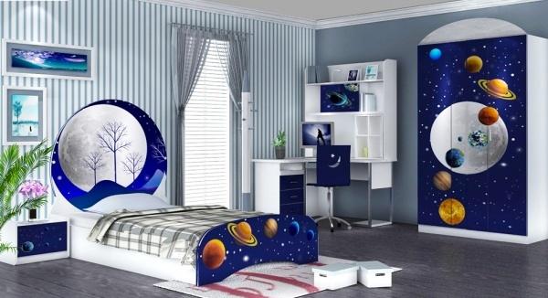 Phòng ngủ sinh động, đáng yêu cho con chủ nhà. (Ảnh minh họa)