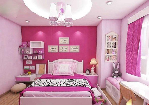 Một thiết kế khác phòng ngủ dễ thương của con gia chủ. (Ảnh minh họa)
